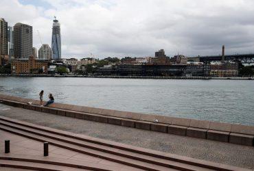 В Австралии этой ночью зафиксировали рекордно высокую температуру (видео)