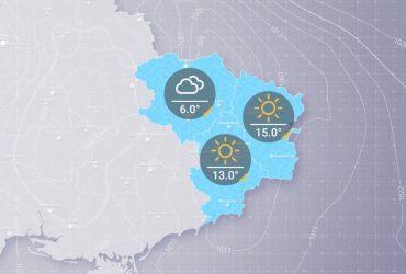 Прогноз погоди в Украине на вторник, день 31 марта
