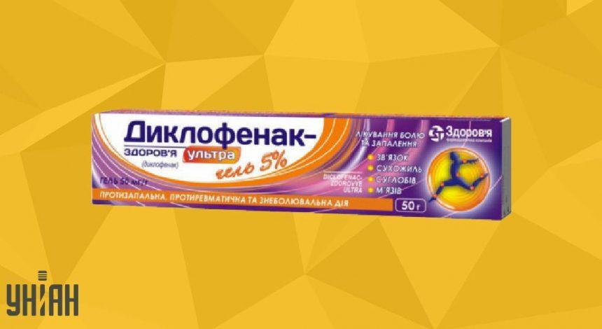Диклофенак гель фото упаковки