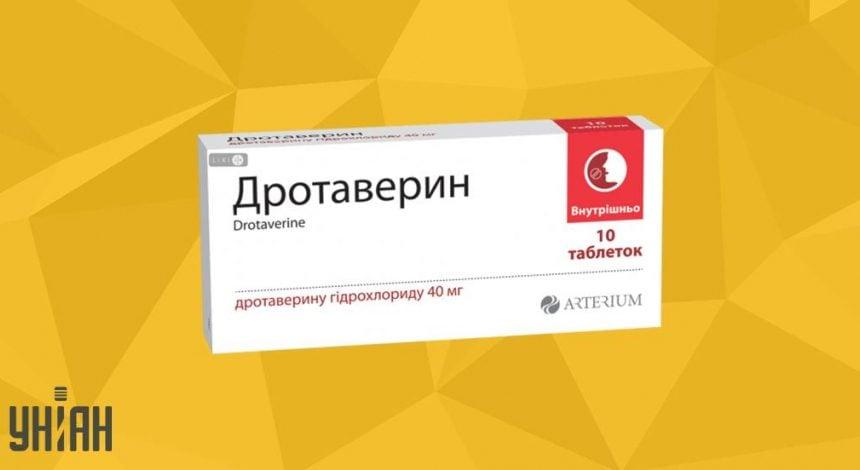 Дротаверин таблетки фото упаковки