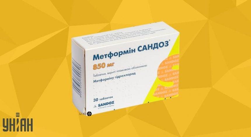 Метформин фото упаковки