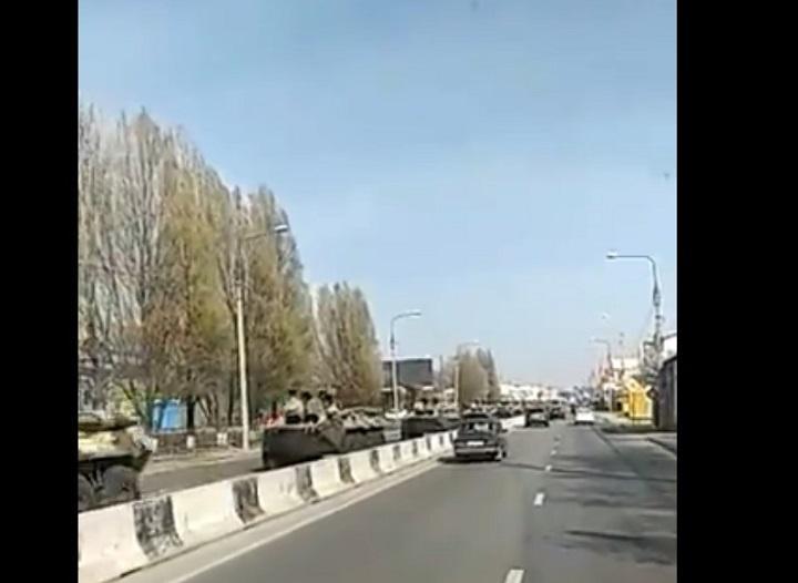 Screenshot from one of eyewitnesses' videos