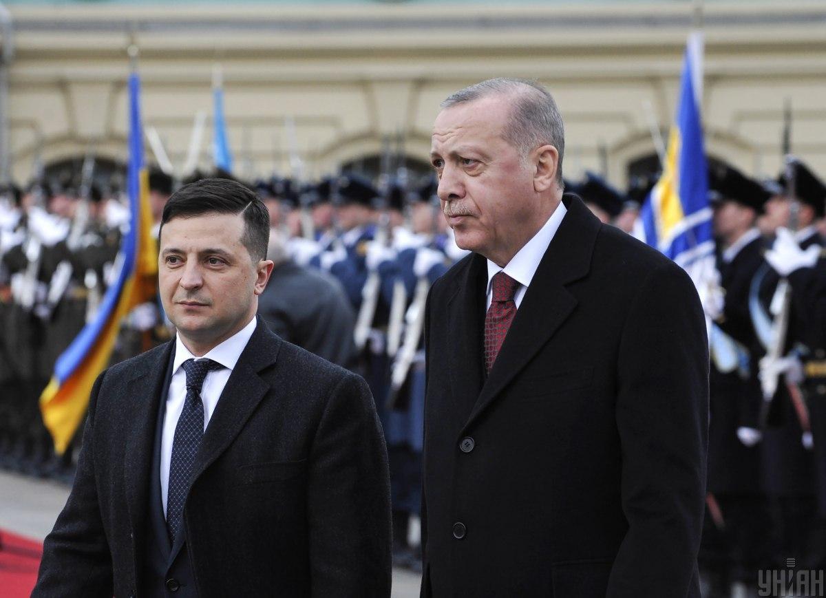 Zelensky and Erdogan / Photo from UNIAN