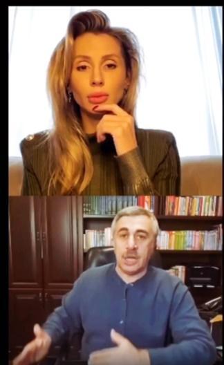 Комаровский поговорил с Лободой о коронавирусе / фото instagram.com/lobodaofficial/