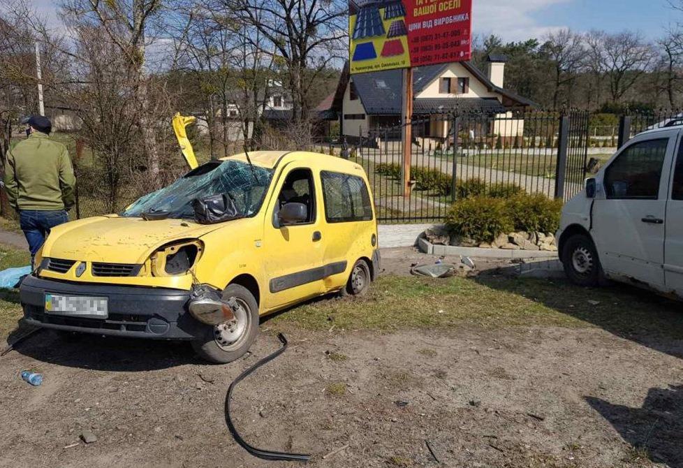 Автомобили получили повреждения / Фото: Нацполиция