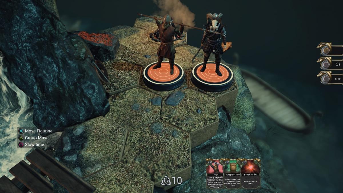 На подставках персонажей отображается уровень их здоровья /скриншот
