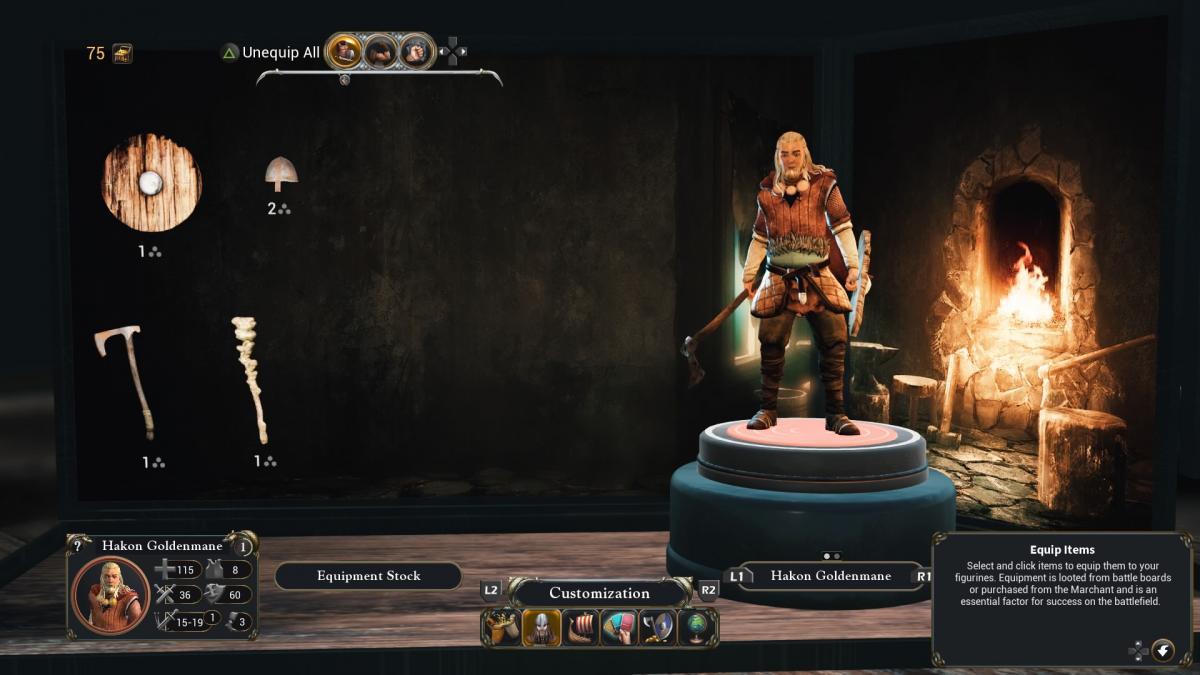 Снаряжение викинга можно улучшить / скриншот