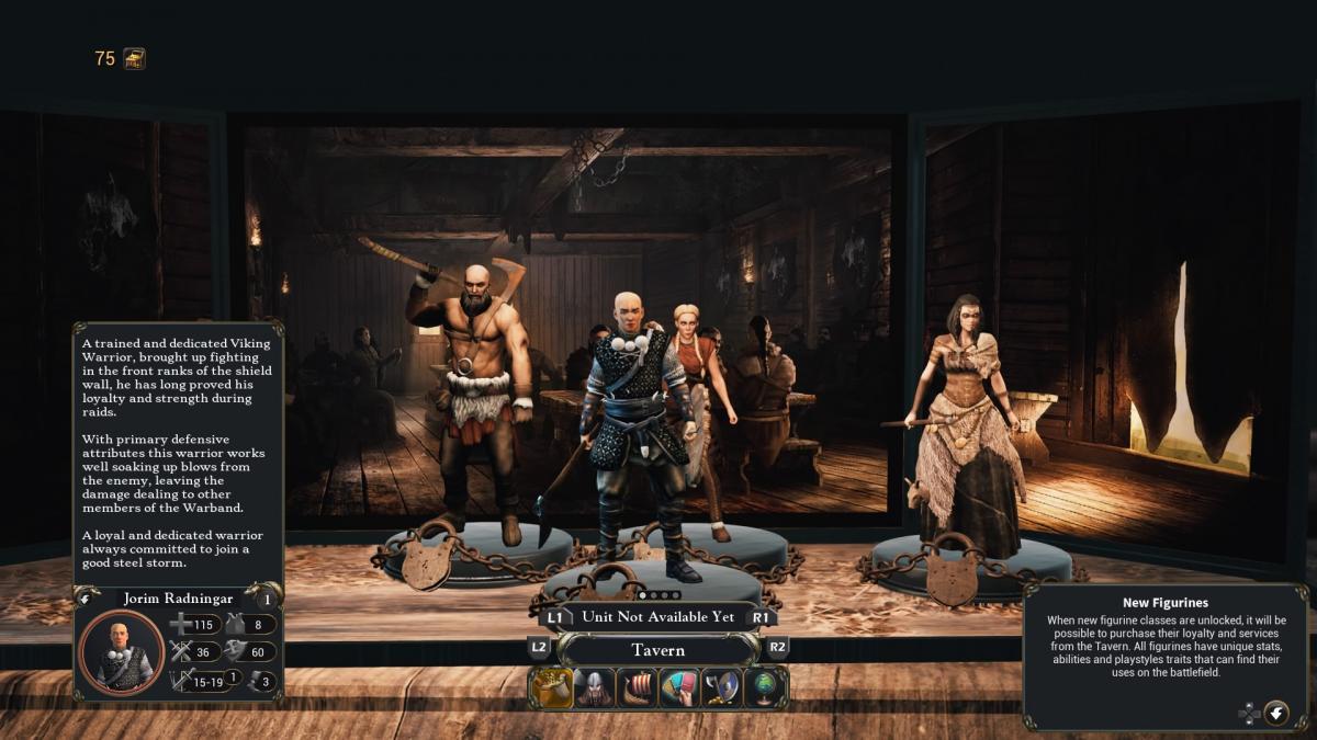 Нанимать новых героев можно в таверне / скриншот