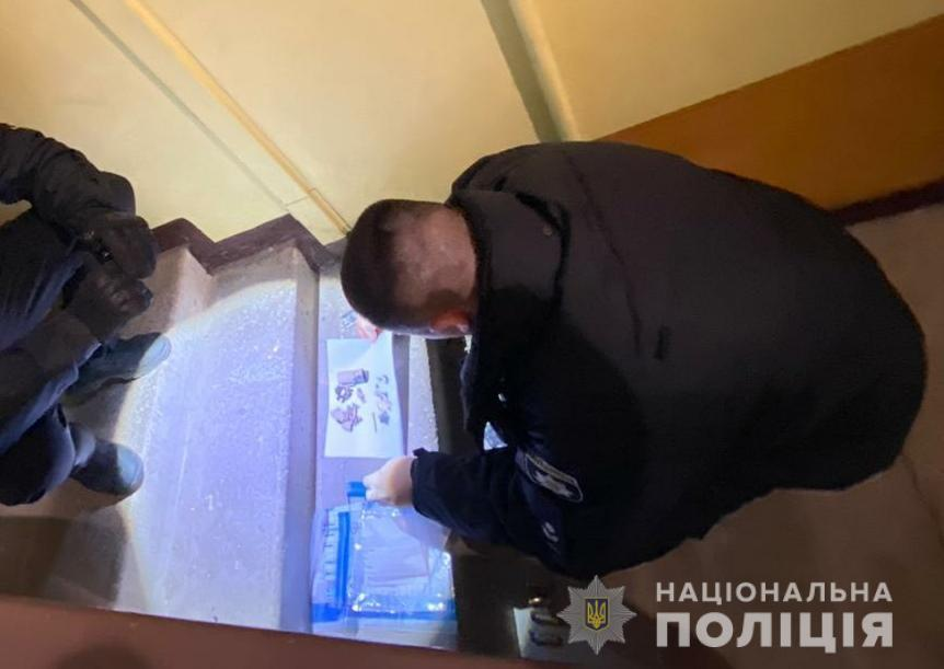 На месте взрыва в Одессе работает следственно-оперативная группа / фото od.npu.gov.ua