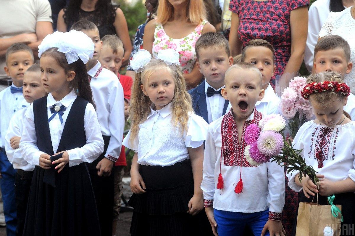 Учебный год в Украине хотят начать с 1 сентября / фото УНИАН