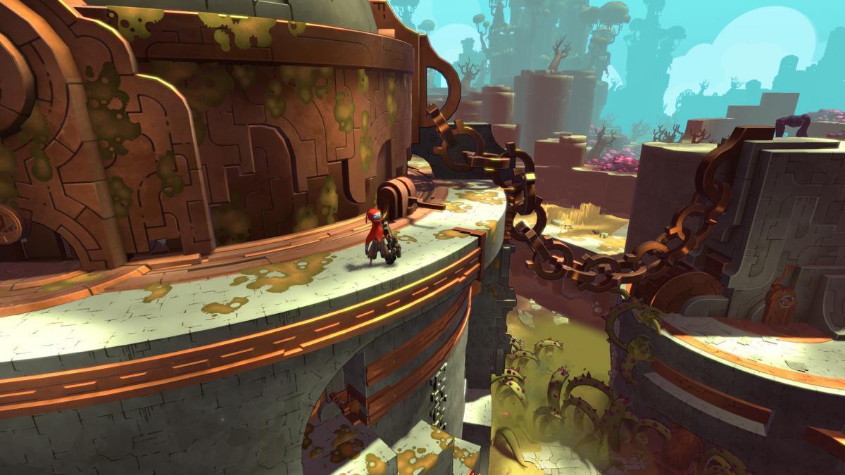 Кадр из игры Hob / скриншот