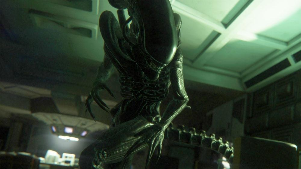 Кадр из игры Alien: Isolation / скриншот