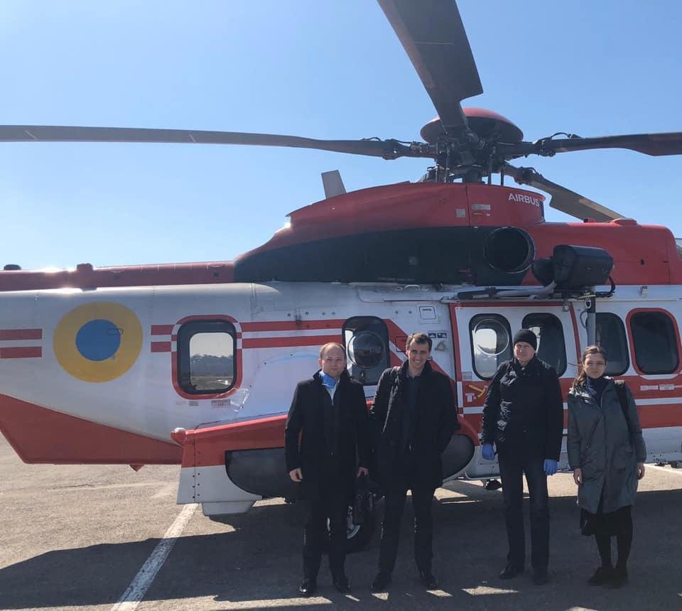 Ляшко прибыл в Тернопольскую область, чтобы пообщаться с медиками / facebook.com/viktor.liashko