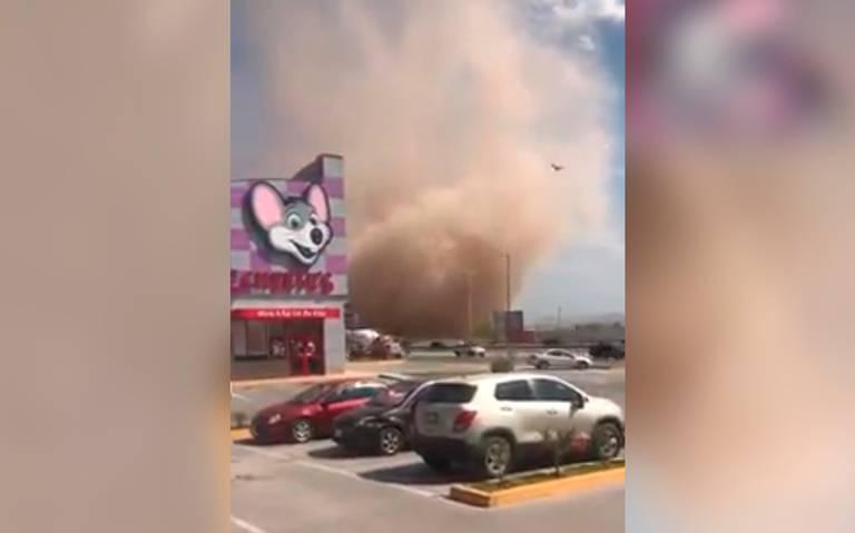 В Мексике пронесся пыльный вихрь / youtube.com/INTERNOTA NOTICIAS