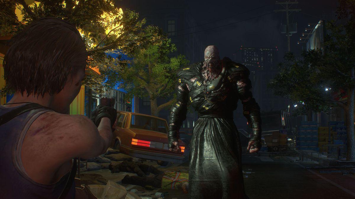Кадр из Resident Evil 3 Remake / скриншот