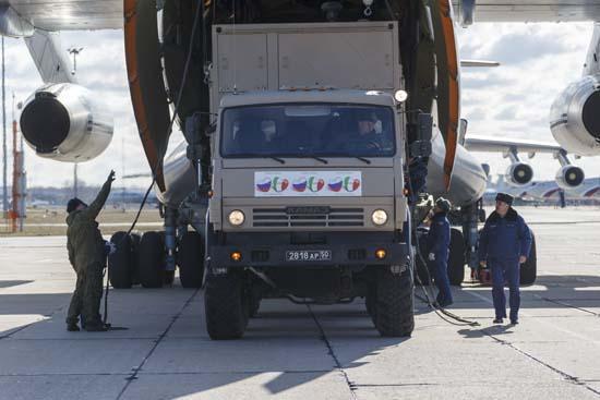 Помощь для Италии была прикрытием для ГРУ / Министерство обороны РФ