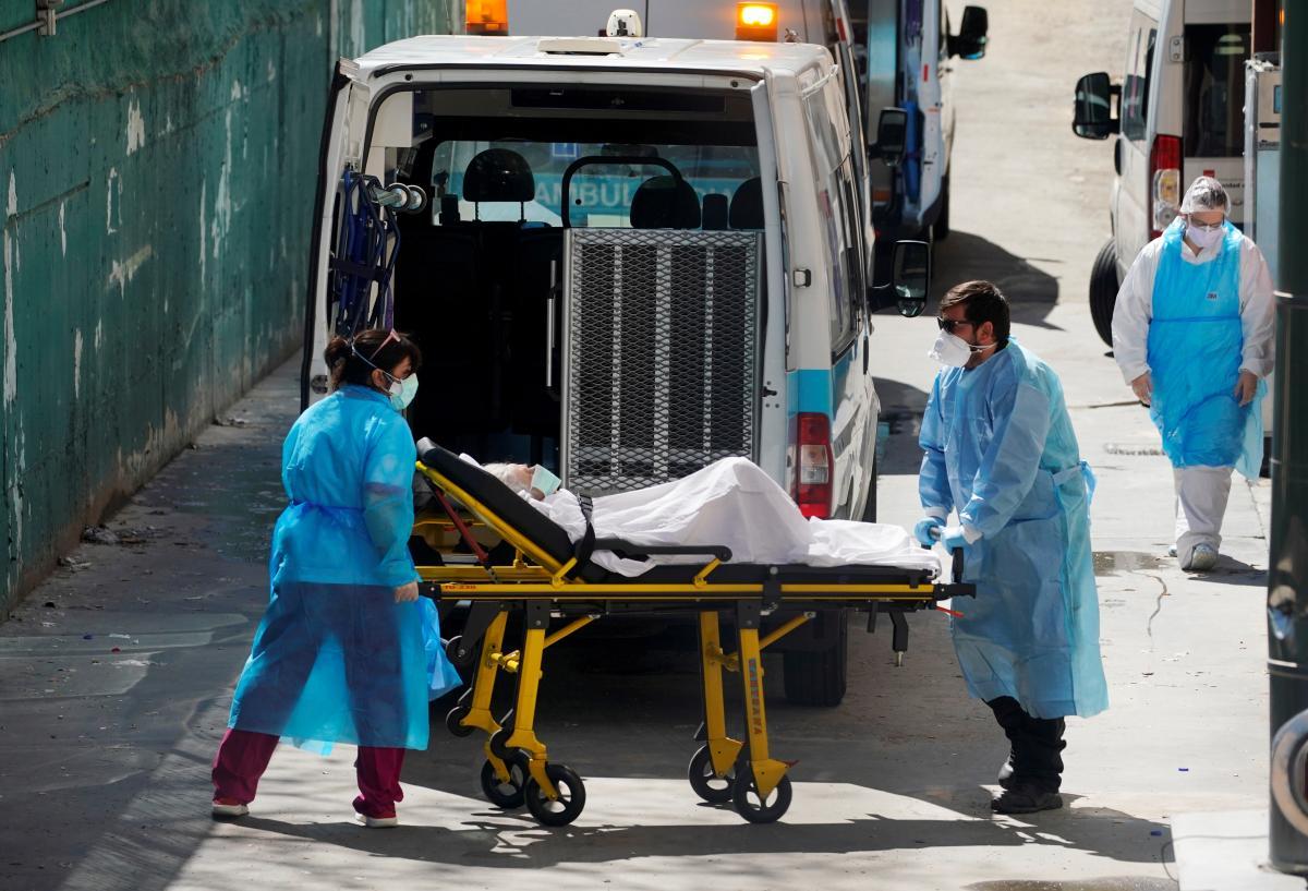 Испания стала первой страной в ЕС с миллионом зараженных коронавирусом / фото REUTERS