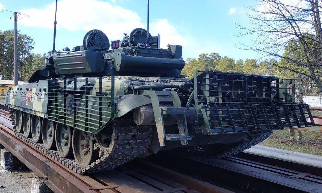 В танке обновлена система противопожарного оборудования / mil.gov.ua