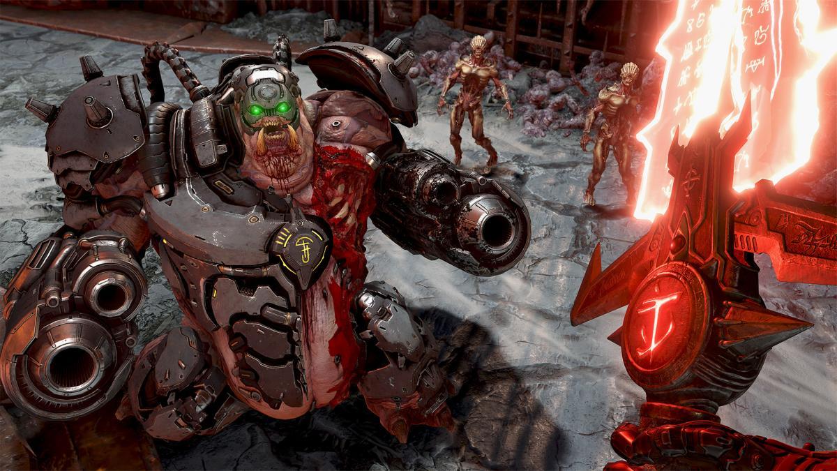Кадр из игры Doom Eternal / store.playstation.com