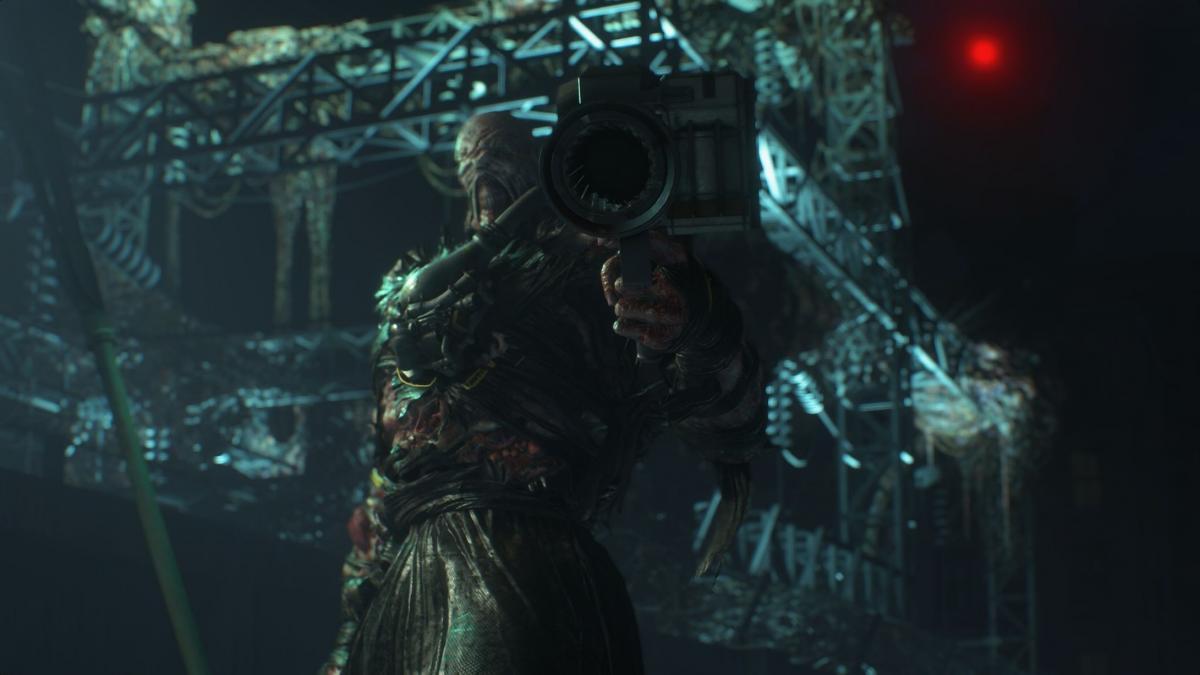 Кадр з гри Resident Evil 3 Remake/ скріншот