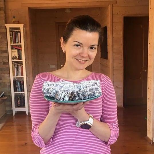 Марічка Падалко разом з дітьми на карантині приготувала десерт