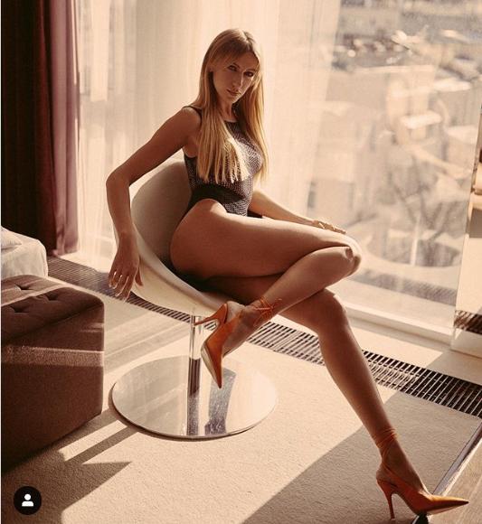 На снимке она демонстрирует стройное тело / instagram.com/lesia_nikituk