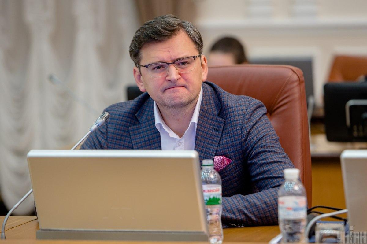 Кулеба заявил, что не разделяет взгляды Фокина на ситуацию на Донбассе / фото УНИАН