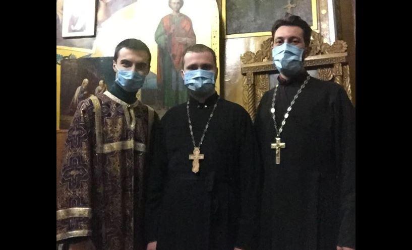 В Кременчуці священики ПЦУ працюють в режимі карантину / Facebook, Михаїл Гориславець