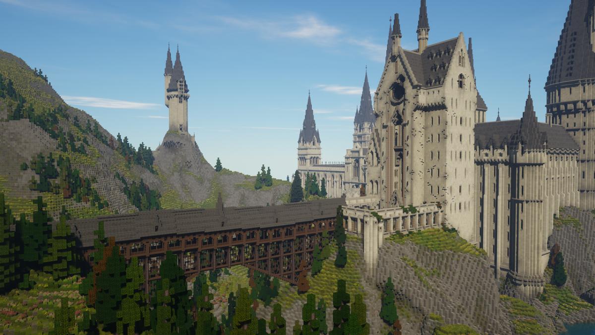 Для Minecraft вышел мод с ролевой игрой по вселенной Гарри Поттера / planetminecraft.com