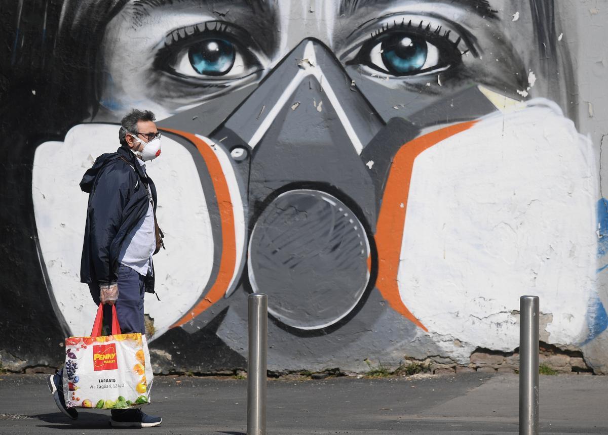 В Італії побито антирекорд добової захворюваності на COVID-19/ фото REUTERS