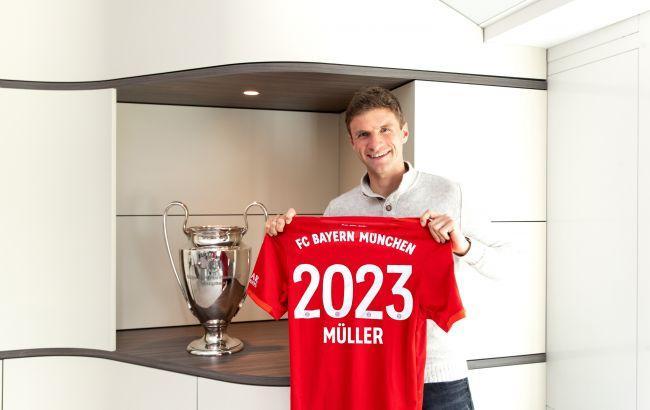Мюллер выступает за Баварию с 2007 года / фото: fcbayern.com