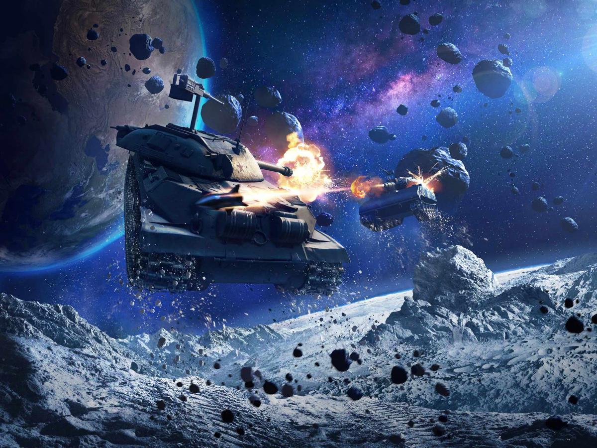 """Режим """"Гравітація"""" для World of Tanks Blitz"""