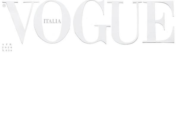 Итальянский журнал впервые в истории выйдет с пустой обложкой \ instagram.com/vogueitalia/
