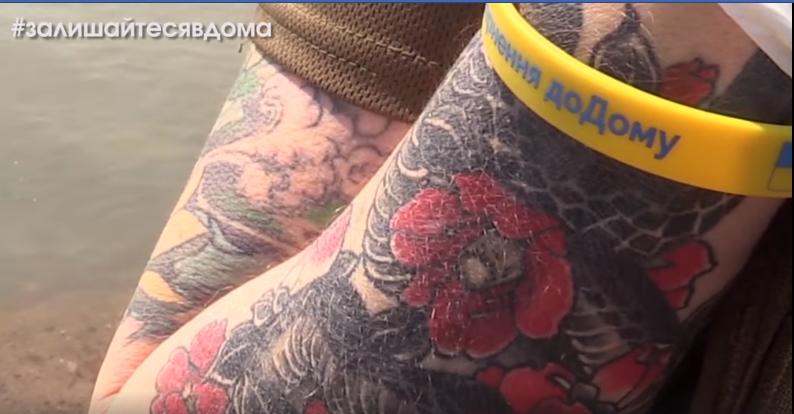 Бойцы обратились к украинцев / скриншот
