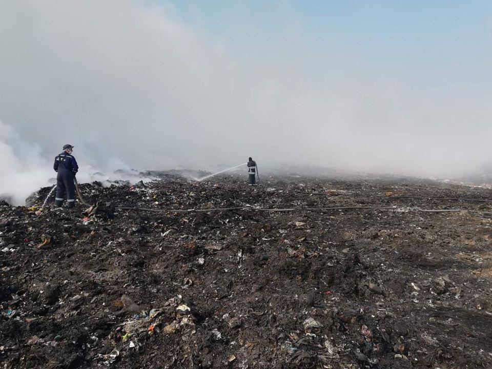 Сьогодні пожежу було повністю ліквідовано \ lv.dsns.gov.ua