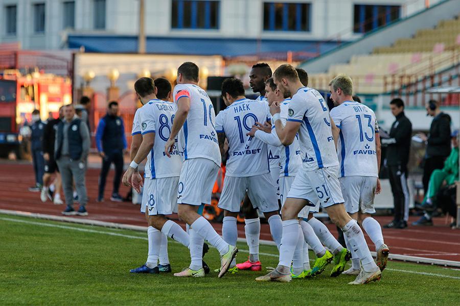 Українці взяли участь в обох голах команди / фото: dynamo-brest.by