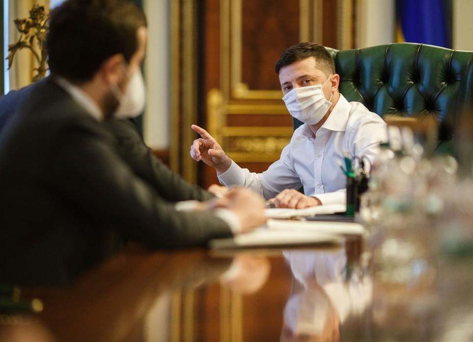 Владимиру Зеленскому делали тест на коронавирус / фото president.gov.ua