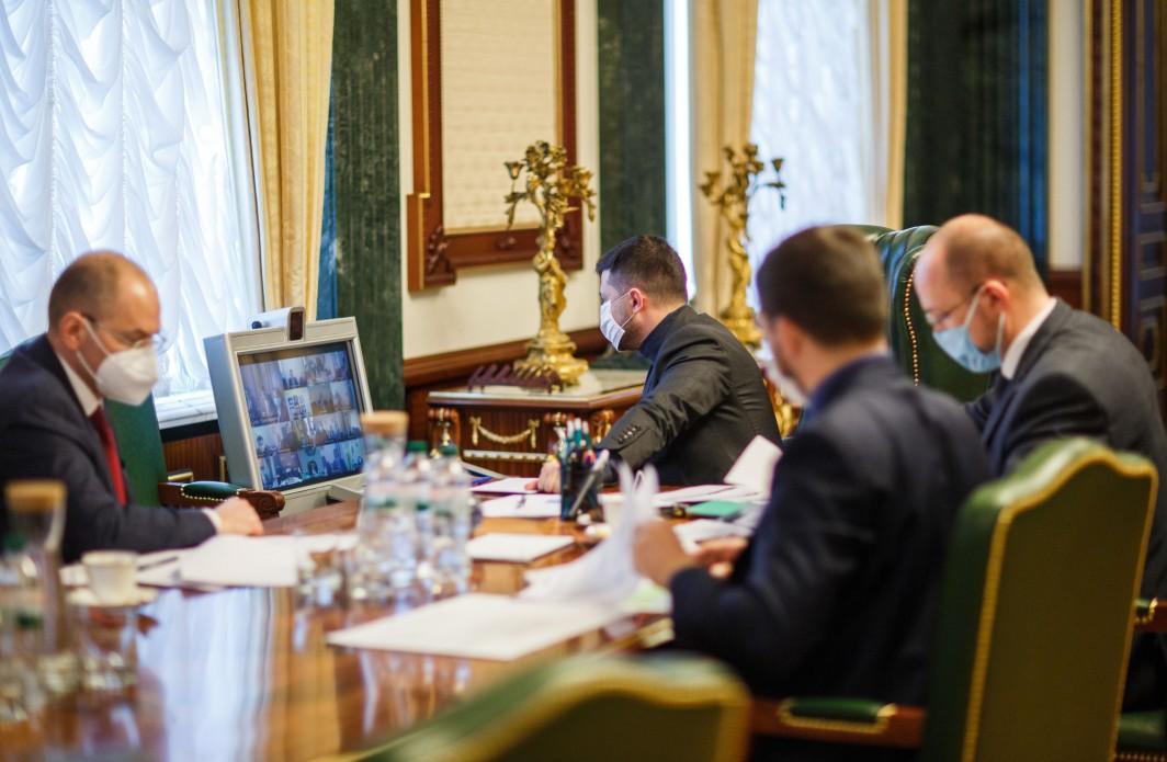 В Офісі Президента обговорювали введення надзвичайного стану / фото president.gov.ua