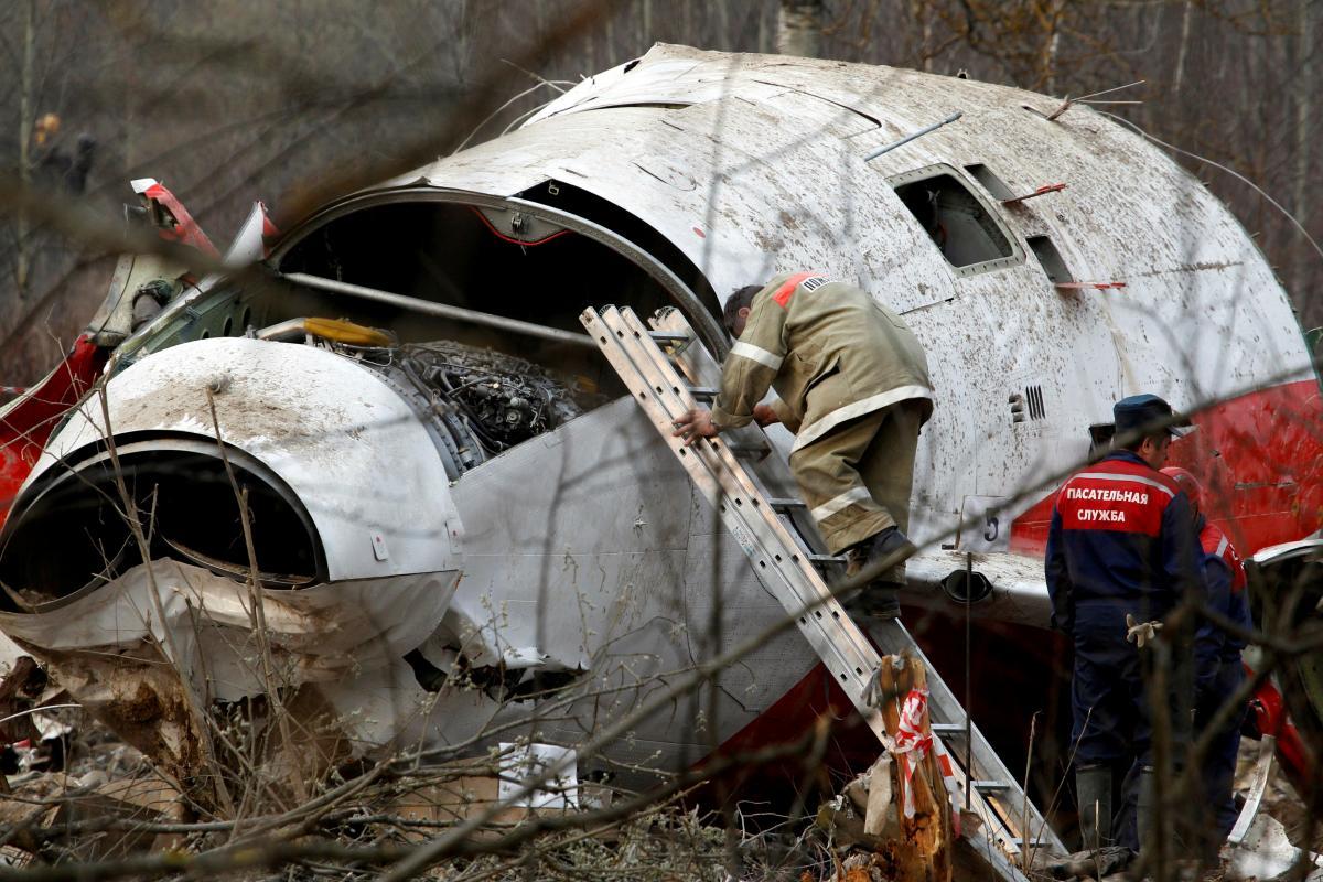У Росії впав польський президентський літак ТУ-154 / фото REUTERS