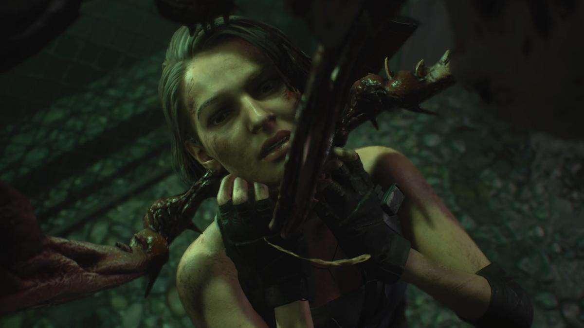 Джилл Валентайн - главная героиня ремейка Resident Evil 3 / скриншот