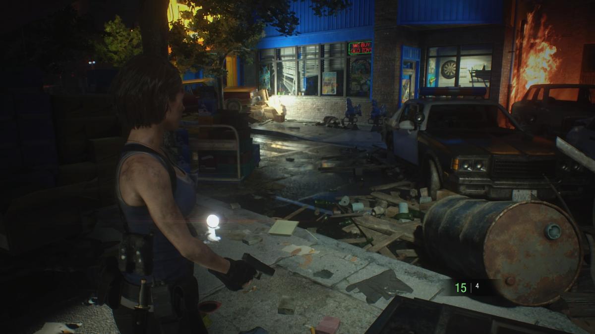 Выглядит ремейк Resident Evil 3 великолепно / скриншот