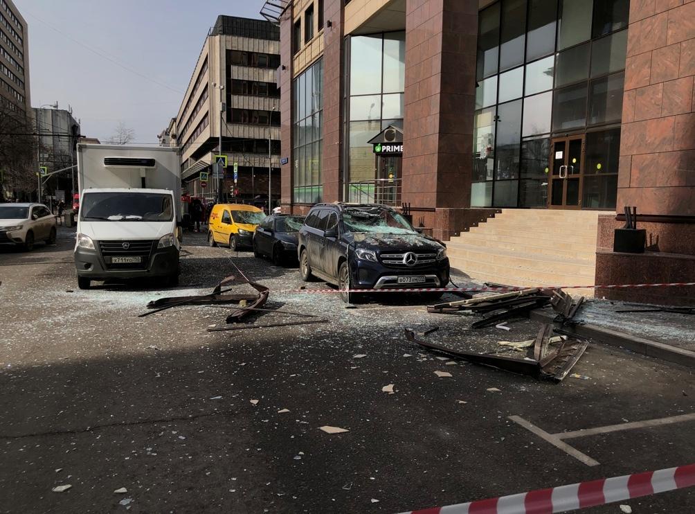 В результаті вибуху постраждала жінка / tvrain.ru