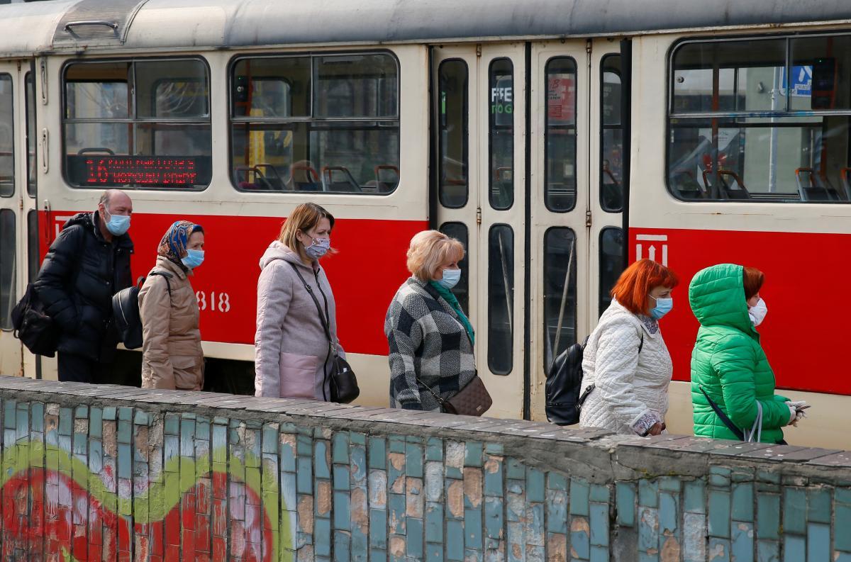 В киевском транспорте много льготников / Иллюстрация REUTERS
