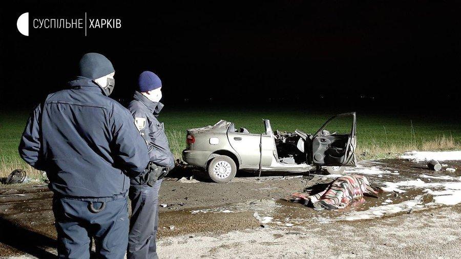 Водитель и пассажир Daewoo также погибли / фото suspilne.media
