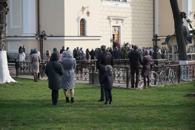 В ряде областей Украины на Вербное воскресенье карантин был нарушен / Фото: acc.cv.ua