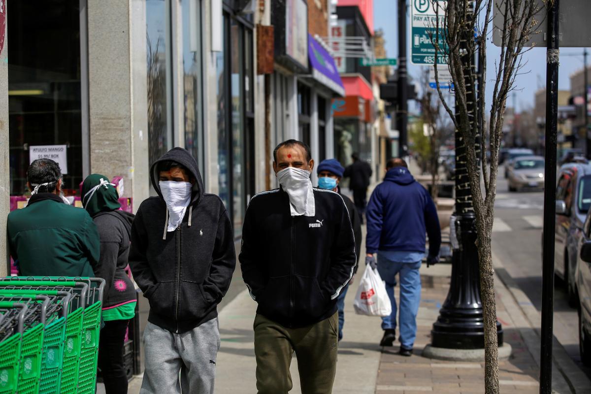 Пандемия коронавируса в США набирает обороты / фото REUTERS