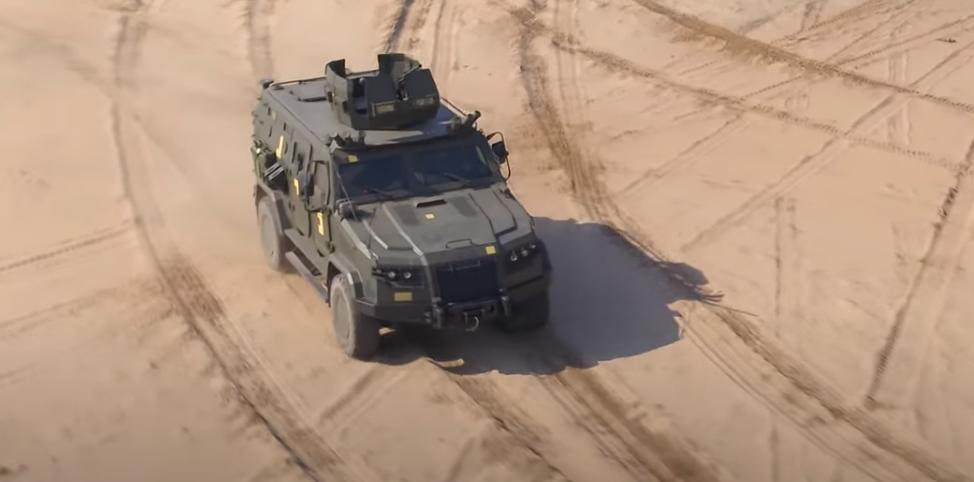 Принятию на вооружение «Козак-2М1» предшествовали успешные государственные испытания бронемашины \ скриншот с видео