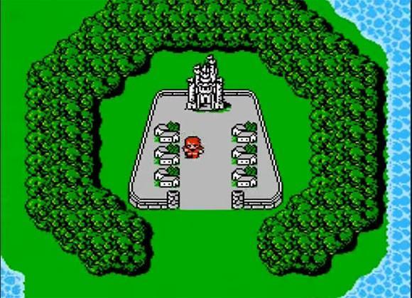Кадр из первой части Final Fantasy / скриншот