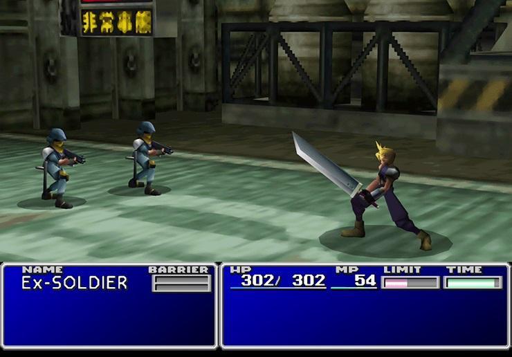 Так выглядела оригинальная Final Fantasy VII / скриншот