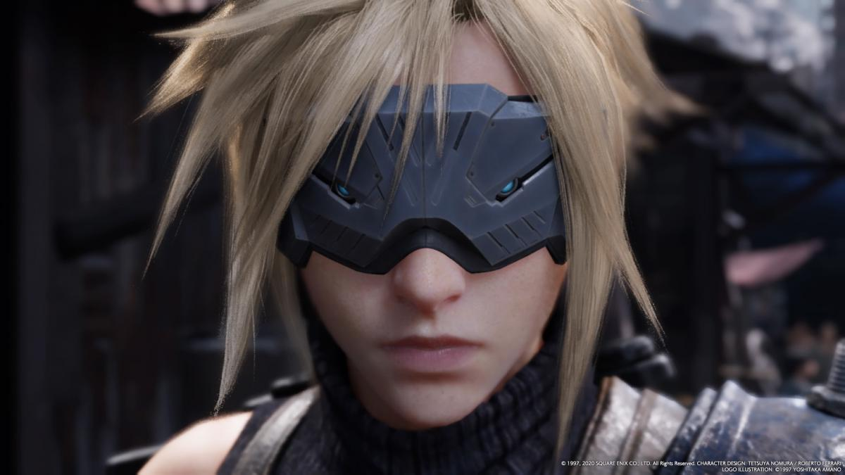 Клауд в Final Fantasy VII Remake / скриншот